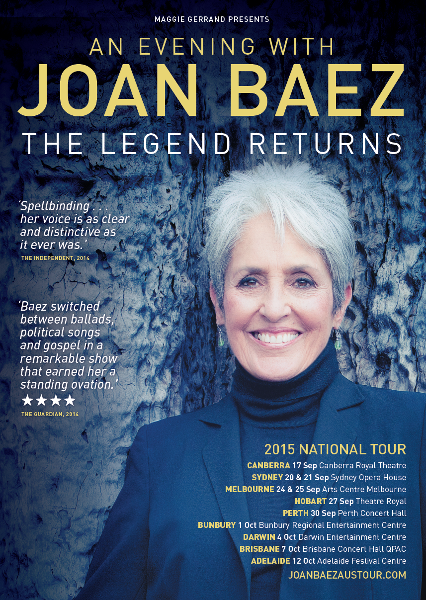 Joan baez perth